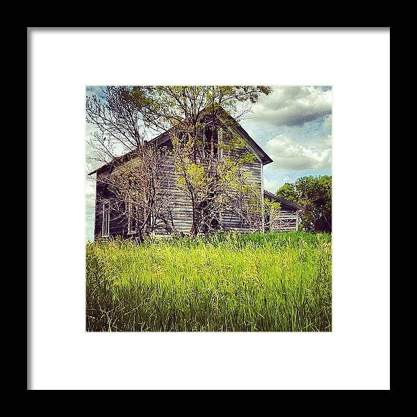 Old Framed Print featuring the photograph Test of Time by Aaron Kremer