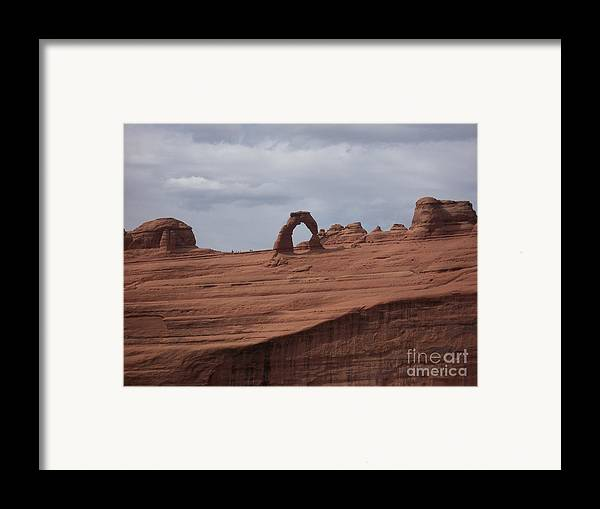 Arch Framed Print featuring the photograph Test Of Time by Luke Moore