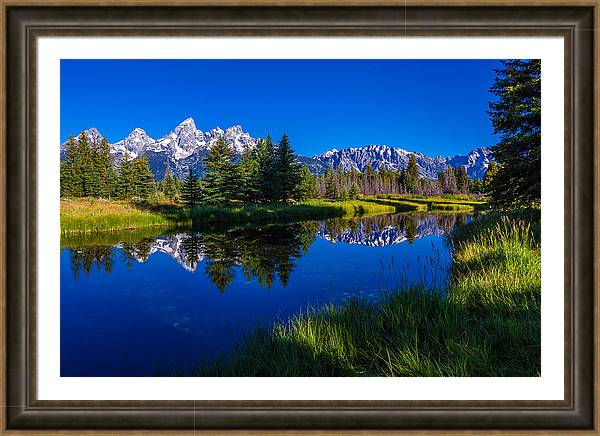Teton Reflection by Chad Dutson