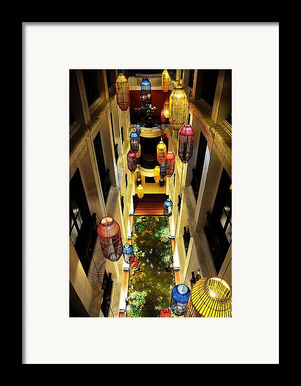 Hotel Framed Print featuring the photograph Thai Hotel by Money Sharma