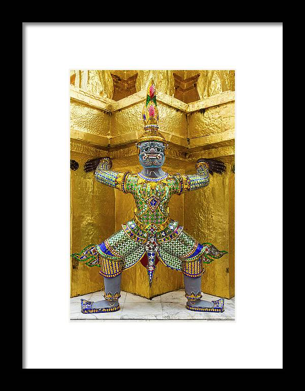 Asia Framed Print featuring the photograph Thailand, Bangkok by Brenda Tharp