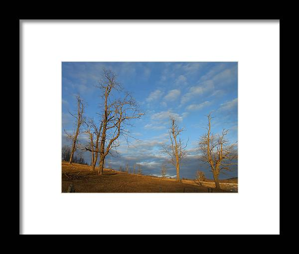 Sky Framed Print featuring the photograph That Glorious Mountain Sky by Diannah Lynch