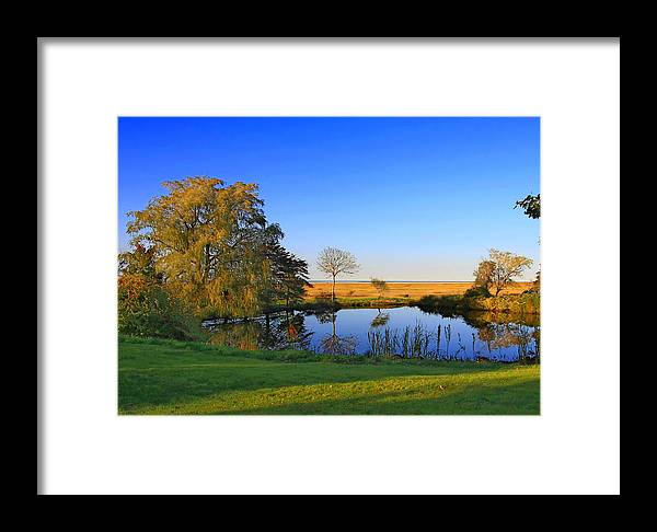 Cape Cod Framed Print featuring the photograph Thatcher Pond by David DeCenzo