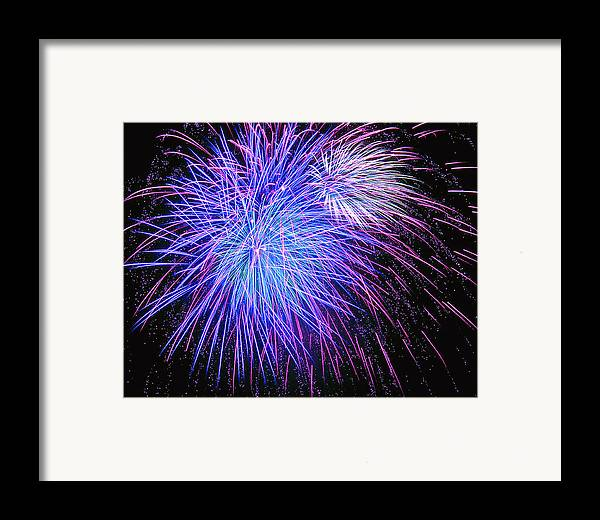 July Framed Print featuring the photograph The 4th by Bryan Burnham