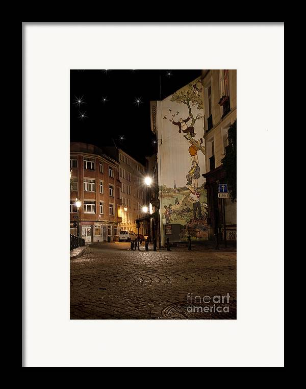 Architecture And Building Framed Print featuring the photograph The Adventures Of Nero by Juli Scalzi