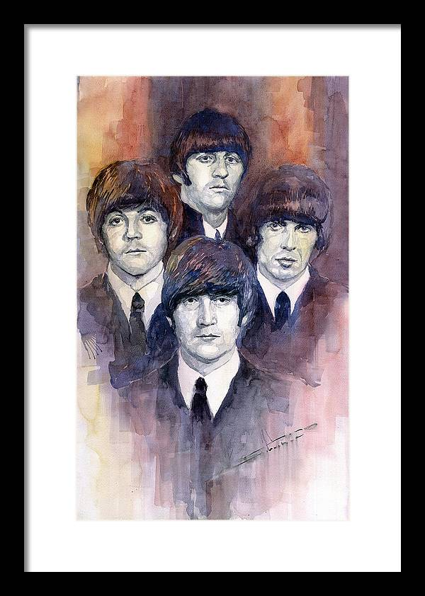 The Beatles Framed Art Prints | Fine Art America
