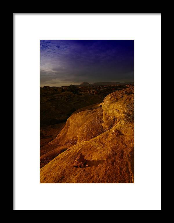 Utah Framed Print featuring the photograph The Beauty Of Canyonlands by Jeff Swan