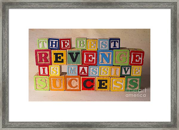 'Success Go Get It' Photographic Print on Wrapped Canvas