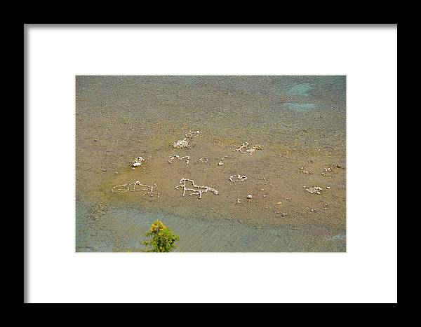 Rocks Framed Print featuring the photograph The Big Picture by Brett Geyer