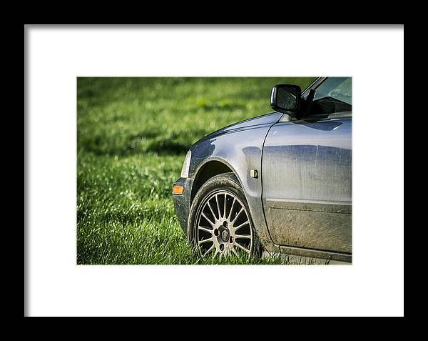 Car Framed Print featuring the photograph The Bmw by Adrian De Juan