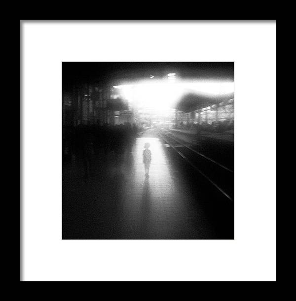 Mood Framed Print featuring the photograph The Boy From Nowhere by Hengki Lee