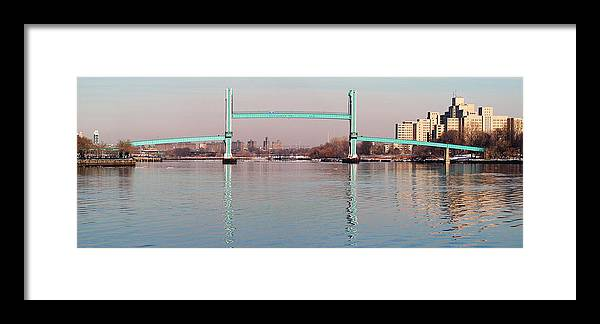 Bridge Framed Print featuring the photograph The Bridge by Yue Wang