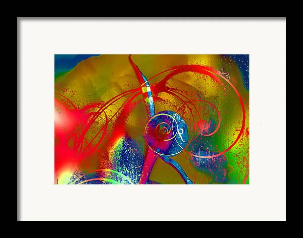 Abstract Framed Print featuring the photograph The Bud by Jeff Burgess