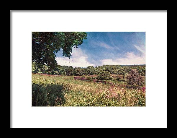 Summer Framed Print featuring the photograph The Calling Of Summer Fields by John Rivera