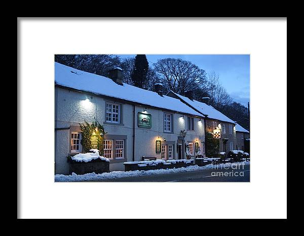 Chequers Framed Print featuring the photograph The Chequers Inn by David Birchall