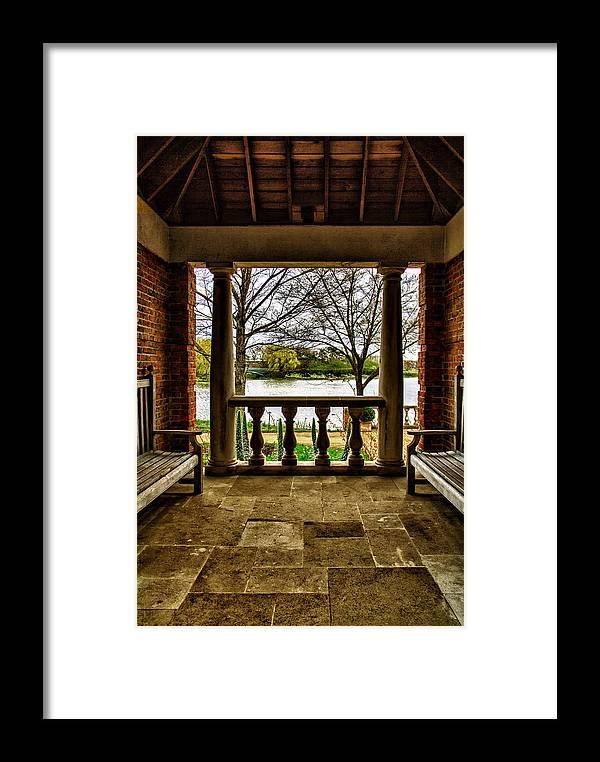 Chicago Botanical Gardens Photographs Framed Print featuring the photograph The Chicago Botanical Gardens-004 by David Allen Pierson