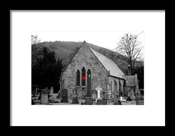 Church Framed Print featuring the photograph The Church by Christopher Rowlands