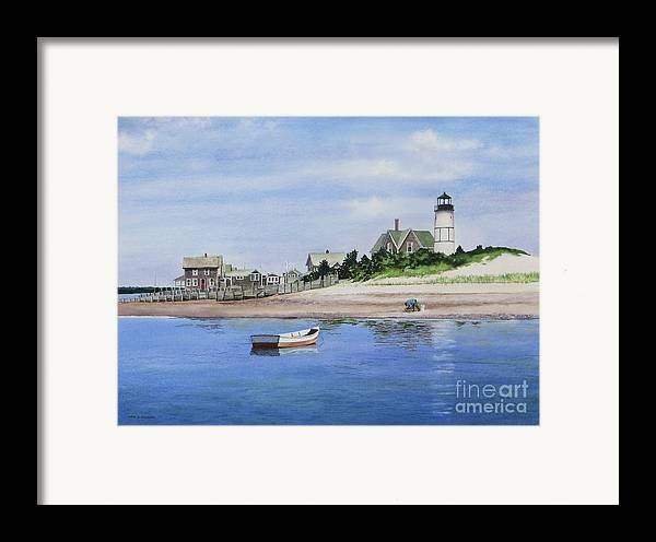 Man Framed Print featuring the painting The Clammer by Karol Wyckoff