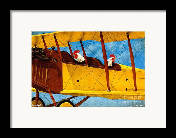 Will Bullas Framed Print featuring the painting The Cockpits... by Will Bullas