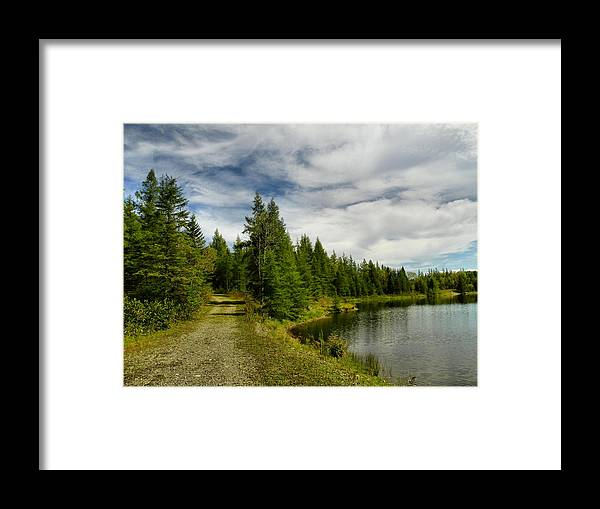 The County Framed Print featuring the photograph The County 2 by Gene Cyr