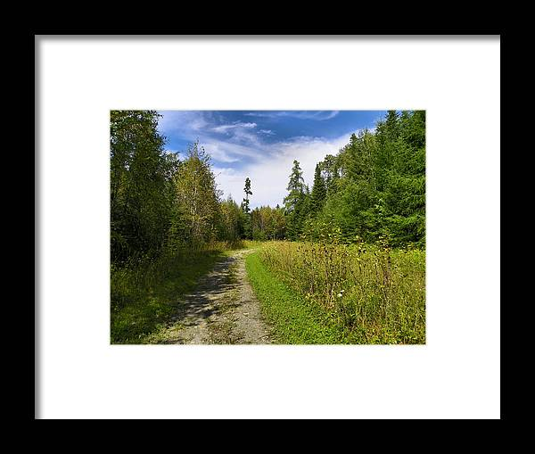 Aroostook Framed Print featuring the photograph The County 9 by Gene Cyr