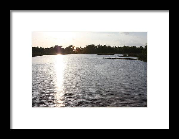 George Ranch Framed Print featuring the photograph The Creek At Dusk by Matt Johnson