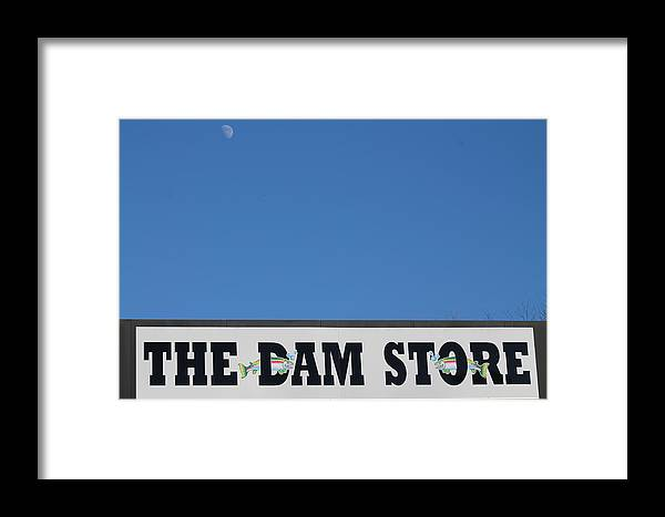 North Carolina Framed Print featuring the photograph The Damn Store by Robin Vargo