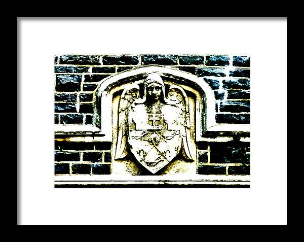 Crest Framed Print featuring the photograph The Dark Eyed Angel by Steve Taylor