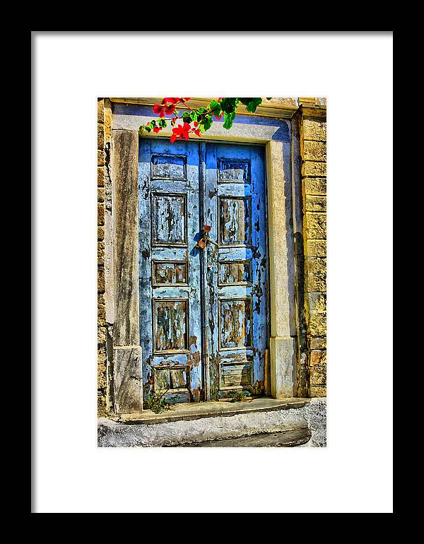 Aperture Framed Print featuring the photograph The Door by Perry Frantzman