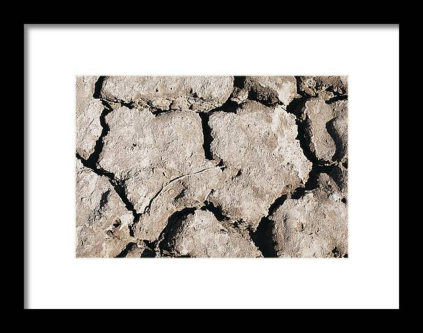 Drought Framed Print featuring the photograph The Drought by Ramunas Bruzas