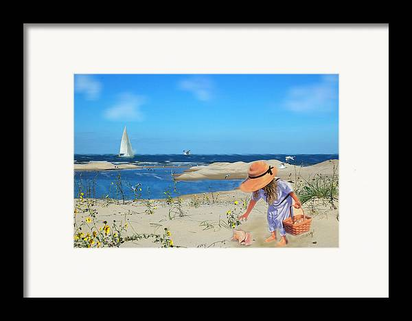 Indiana Dunes Framed Print featuring the photograph The Dunes by Mary Timman
