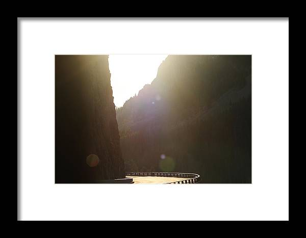 Edge Framed Print featuring the photograph The Edge by Ted Duboise