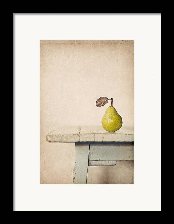 Pear Framed Print featuring the photograph The Exhibitionist by Amy Weiss