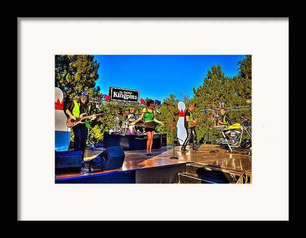 The Kingpins Framed Print featuring the photograph The Fabulous Kingpins by David Patterson