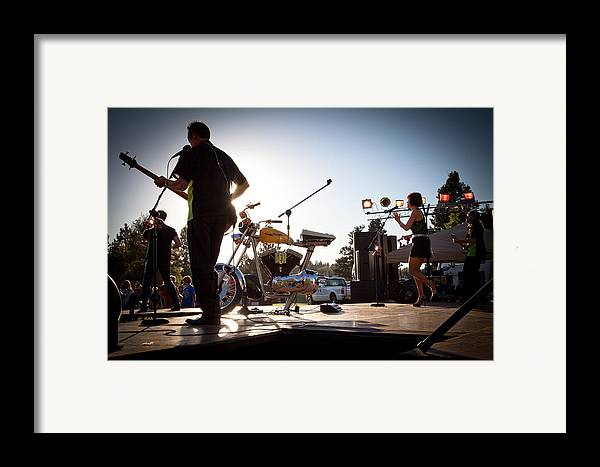 The Kingpins Framed Print featuring the photograph The Fabulous Kingpins - Pullman's 4th Of July Celebration by David Patterson