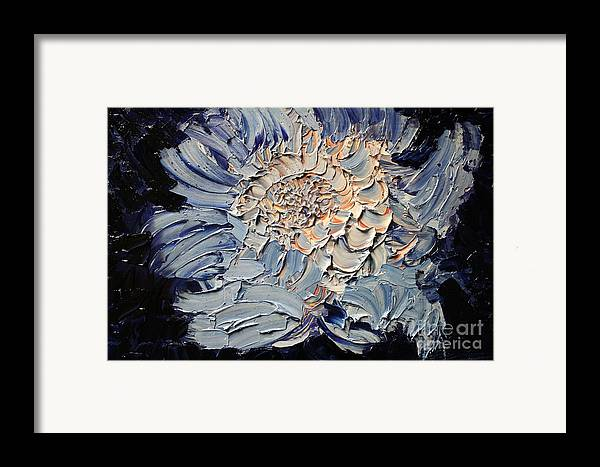 Michael Kulick Framed Print featuring the painting The Flower I Never Sent by Michael Kulick