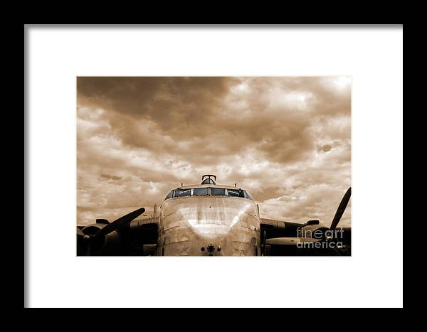 Airplane Framed Print featuring the photograph The Flying Boxcar by Steven Digman