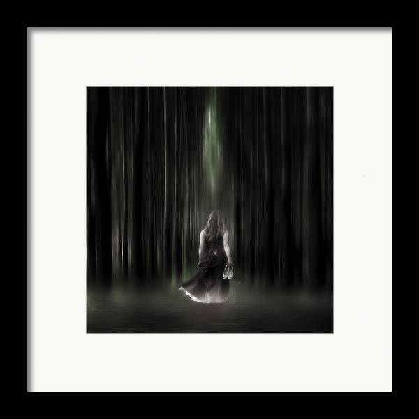 Woman Framed Print featuring the photograph The Forest by Joana Kruse