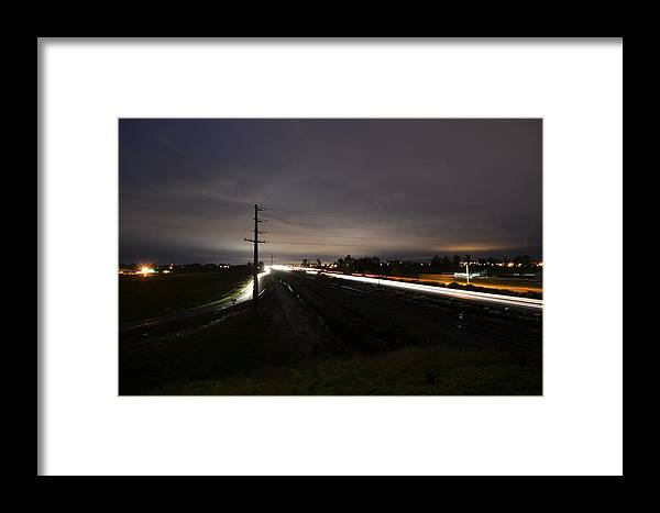 Freeway Framed Print featuring the photograph The Freeway by Michael Blake