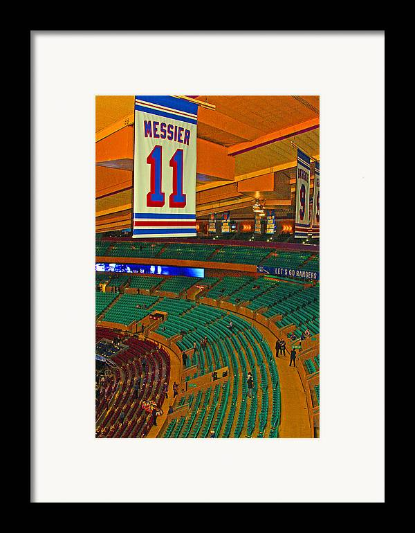 Sports Framed Print featuring the photograph The Garden by Karol Livote