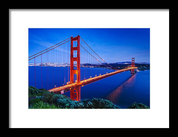 Framed Print featuring the digital art The Gate 003 by Marcelo Alexandre