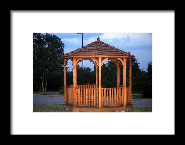 Gazebo Framed Print featuring the photograph The Gazebo by William Copeland