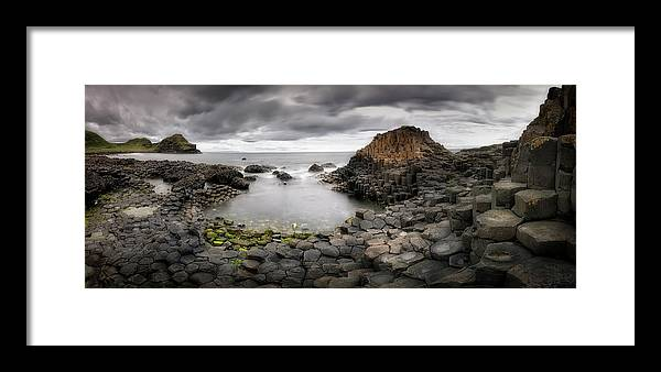 Giants Framed Print featuring the photograph The Giants Causeway by Yolanda Romero Angueira