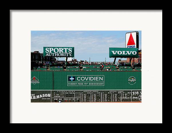 Fine Art America Framed Print featuring the photograph The Green Monster 99 by Tom Prendergast