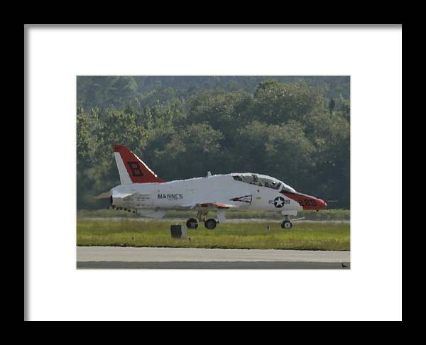 T-45 Framed Print featuring the photograph The Heat Of The Day With Killdee by Scott Stephens