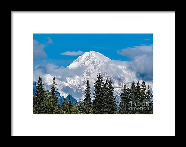 Alaska Framed Print featuring the photograph The High One by Susan Serna