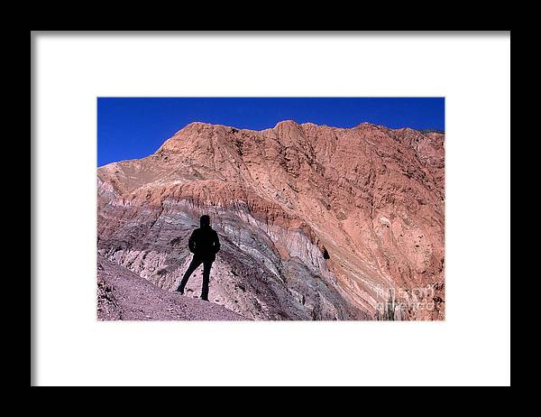 Argentina Framed Print featuring the photograph The Hill Of Seven Colours Jujuy Argentina by James Brunker