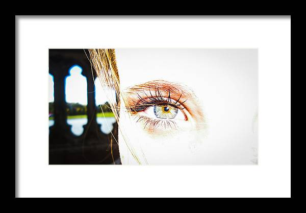 Eye Framed Print featuring the photograph The Human Eye by Leaha Phillips
