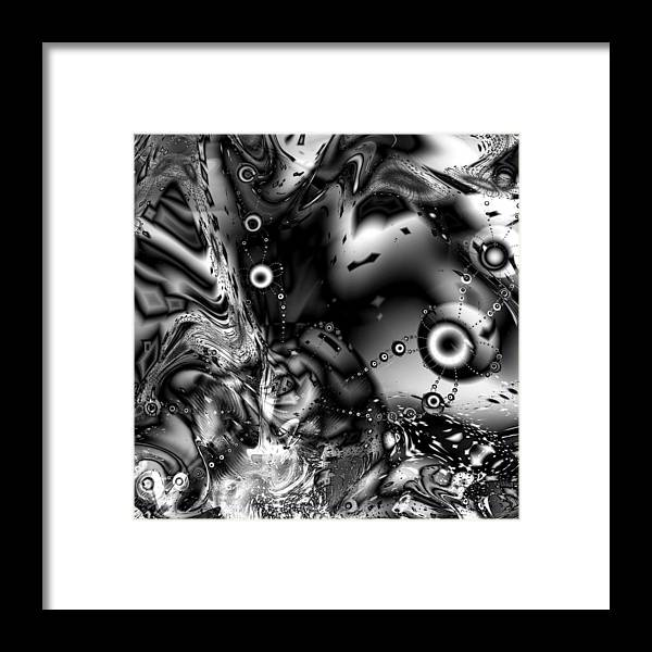 Invaders Framed Print featuring the digital art The Invaders by Kiki Art
