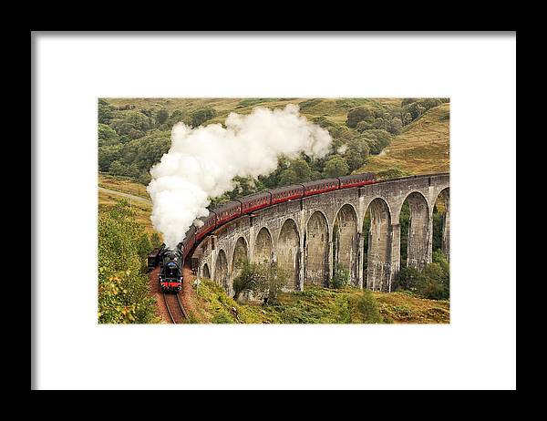 The Jacobite Framed Print featuring the photograph The Jacobite by Grant Glendinning